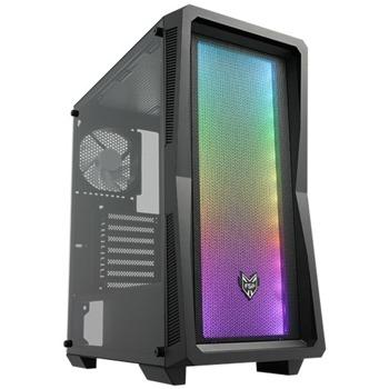 Кутия Fortron CMT212, ATX/mATX/Mini-ITX, 2x USB 3.0, прозорец, черна, без захранване image