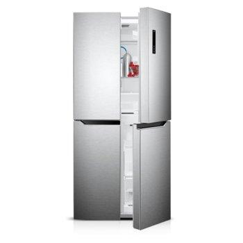 Хладилник с фризер Finlux FMD-4X471NF, клас A+, 401 л. общ обем, свободностоящ, 343 kWh/годишно, No Frost, дисплей, електронен контрол, инокс  image