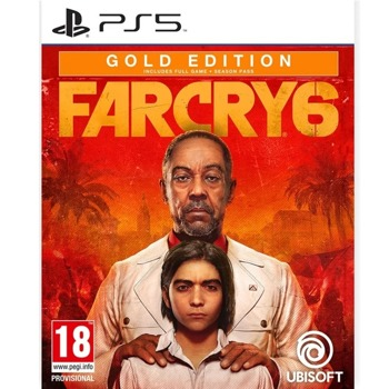 Игра за конзола Far Cry 6 Gold Edition, за PS5 image