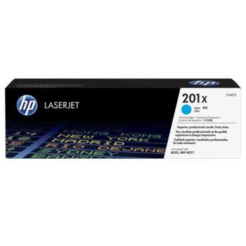 КАСЕТА ЗА HP Color LaserJet Pro M252 Printer series,MFP M277 series - Cyan 201X - № CF401X - заб.: 2300k image