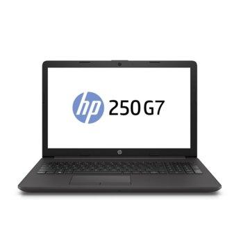 "Лаптоп HP 250 G7 (6MR06EA), двуядрен Gemini Lake Intel Celeron N4000 1.1/2.6 GHz, 15.6"" (39.6 cm) HD SVA Anti-Glare Display, (HDMI), 8GB DDR4, 256GB SSD, 2x USB 3.1, Free DOS image"