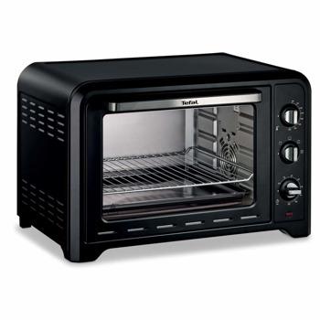 Фурна Tefal Optimo 39 L, 2000 W, 39л. обем, 4 нива на готвене, таймер, черна image