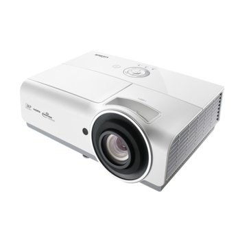 Проектор Vivitek DH833-EDU, DLP, 3D Ready, Full HD (1920x1080), 15000:1, 4500 lm, 3x HDMI, VGA, RJ-45, USB, бял image