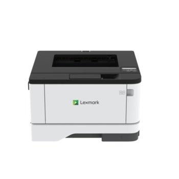 Лазерен принтер Lexmark MS331dn, монохромен, 600 x 600 dpi, 38 стр/мин, LAN, USB 2.0, A4 image