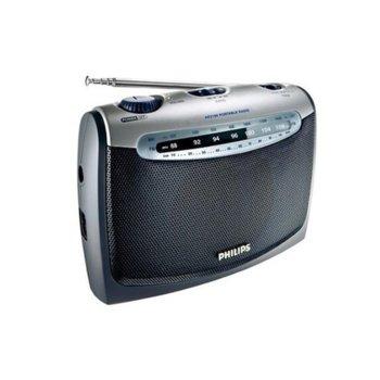 Радио портативно Philips AE2160C, FM/MW, батерии 2xLR20, 1.5V image
