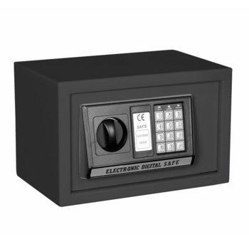 Сейф Crown ES-20, 31 x 20 x 20 cm, черен image