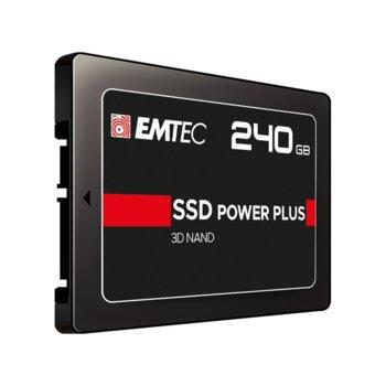 "Памет SSD 960GB Emtec Power Plus X150, SATA 6Gb/s, 2.5""(6.35 cm), скорост на четене 520 MB/s, скорост на запис 500 MB/s image"