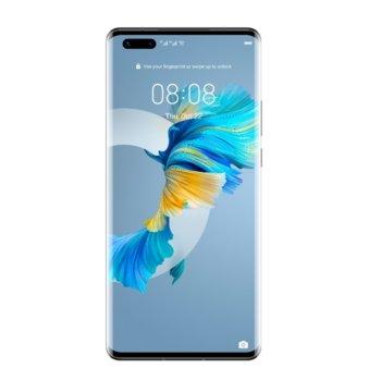 """Смартфон Huawei Mate 40 Pro Noah-N29D (черен), поддържа 2 sim карти, 6.76"""" (17.17 cm) OLED 90 Hz дисплей, осемядрен Kirin 9000 3,13 GHz, 256GB Flash памет (+ microSD слот), 50.0 + 20.0 + 12MP + TOF & 13MP + DEPTH, Android 10 image"""