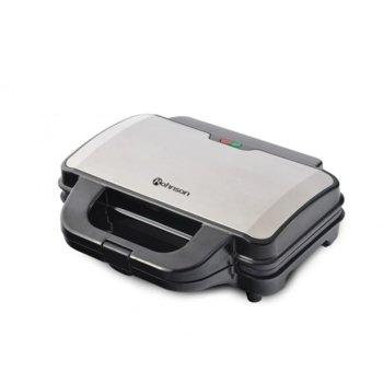 Сандвич скара Rohnson R 276, XXL плоча за 2 тоста, индикатор за включване и готовност за работа, 900W, инокс  image