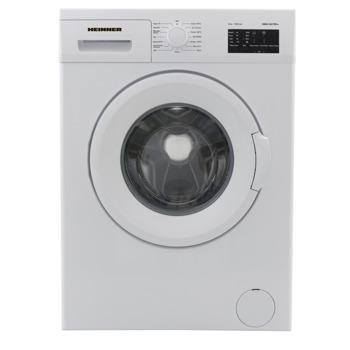 Перална машина Heinner HWM-V7010D++, D, капацитет 7kg, 1000 rpm, 15 програми, свободностояща, 59.7 cm ширина, бял image