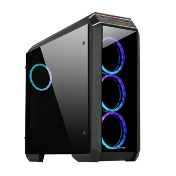 Кутия Chieftec Stallion II Chassis GP-02B-OP, ATX/Micro ATX/Mini-ITX, 2x USB 3.0, черна, без захранване image