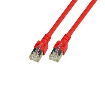 Пач кабел EFB Elektronik, SFTP, Cat.5e, 3m, червен image
