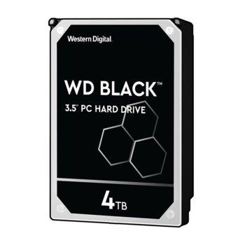 """Твърд диск 4TB Western Digital Black WD4005FZBX, SATA 6Gb/s, 7200 rpm, 256MB кеш, 3.5"""" (8.89 cm) image"""