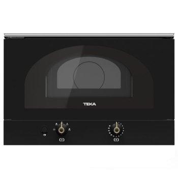 Микровълнова фурна Teka WISH MWR 22 BI, за вграждане, механично управление, 850 W, 22 л. обем, 5 степени на мощност, антрацит image