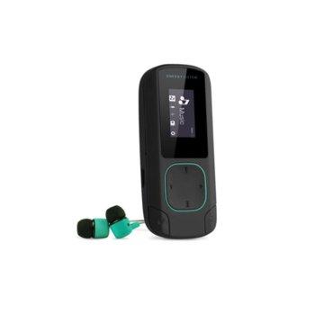 MP3 Плейър Energy Sistem Clip Bluetooth, eквилайзер, Зелен image
