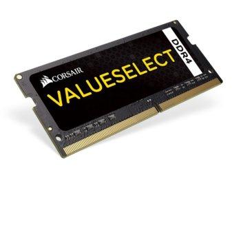 Памет 8GB DDR4 2133MHz, SO-DIMM, Corsair CMSO8GX4M1A2133C15, 1.2V image