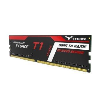 Памет 4GB DDR4, 2666MHz, Team Group T1 Gaming, TTD44G2666C18H01, 1.2 V image