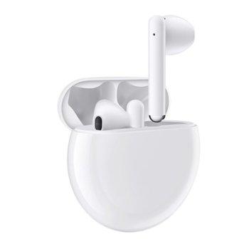 Слушалки Huawei FreeBuds 3, безжични, микрофон, Bluetooth 5.1, бели image