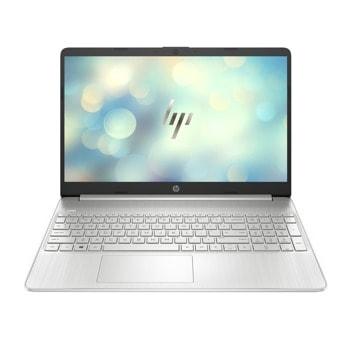 "Лаптоп HP 15s-fq3003nu (49L54EA)(сребрист), четириядрен Jasper Lake Intel Pentium N6000 1.1/3.3 GHz, 15.6"" (39.62 cm) Full HD IPS Anti-Glare Display, (HDMI), 8GB DDR4, 512GB SSD, 1x USB 3.1 Type-C, Free DOS image"