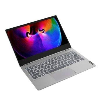 "Лаптоп Lenovo ThinkBook 13s-IML (20RR0003BM_5WS0A23781)(сив), четириядрен Comet Lake Intel Core i7-10510U 1.8/4.9 GHz, 13.3"" (33.78 cm) Full HD IPS Anti-Glare Display, (HDMI), 16GB DDR4, 512GB SSD, 1x USB 3.1 Type-C, Windows 10 Pro image"