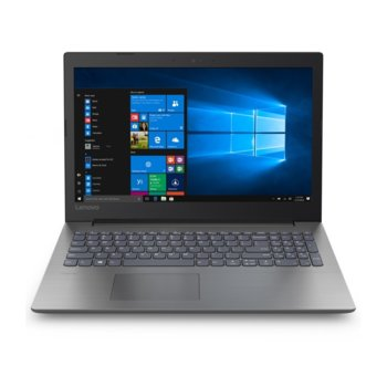 "Лаптоп Lenovo Ideapad 330-15IKB (81DC018URM), двуядрен Kaby Lake Intel Pentium 4415U 2.30 GHz, 15.6"" (39.62 cm) Full HD Anti-Glare Display & GF MX110 2GB, (HDMI), 8GB DDR4, 256GB SSD, 1x USB 3.0 Type-C, Free DOS  image"
