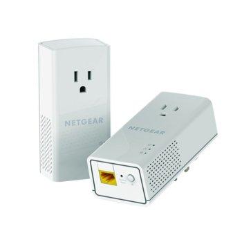 Powerline адаптер Netgear PLP1200 AC1200, Passthru, 1-Port Gigabit, BNDL image