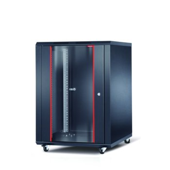 "Комуникационен шкаф Formrack INT-16U6060, 19"", 16U, 600 x 600 mm, черен image"