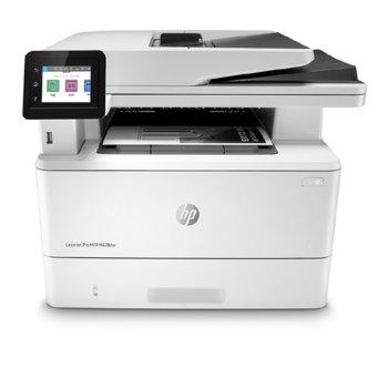 Мултифункционално лазерно устройство HP LaserJet Pro MFP M428dw, монохронен, принтер/копир/скенер/e-mail, 4800 x 600 dpi, 38 стр./мин, LAN, Wi-Fi, Bluetooth Low-Energy, USB, А4 image