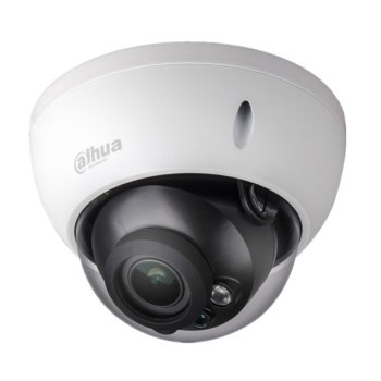 IP камера Dahua IPC-HDBW5631R-ZE-27135, куполна, 6МPix(3072x2048@20FPS), 2.7-13.5mm обектив, H.265+/H.265/H.264+/H.264, IR осветеност (до 50 метра), външна IP67, вандалоустойчива IK10, PoE, RJ-45 10/100Base-T, microSD слот image