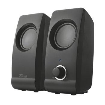 Тонколони Trust Remo 2.0 Speaker Set, 8W, USB, черни image