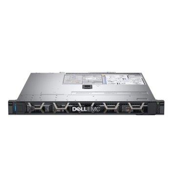 Сървър Dell PowerEdge R340 (PER340CEE01VSP), шестядрен Coffee Lake Intel Xeon E-2136 3.3/4.5 GHz, 16GB DDR4 UDIMM, 1TB HDD, 1x 1GbE LOM, 2x USB 3.0, без ОС, 1x 350W PSU image
