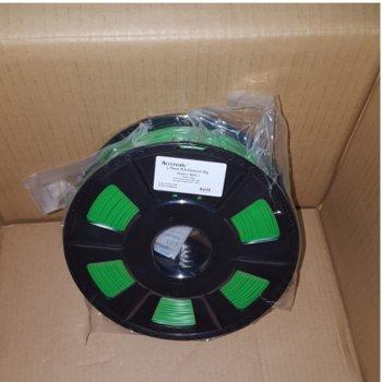 Консуматив за 3D принтер Acccreate, PLA filament, 1.75mm, зелен, 1kg image