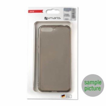 Калъф за Samsung Galaxy A30s, термополиуретанов, 4Smarts Invisible Slim 492973, черен image