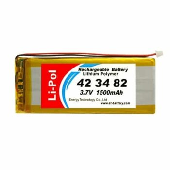 Акумулаторна батерия Energy Technology LP423482-PCM, 3.7V, 2000mAh, Li-po, 1 брой image