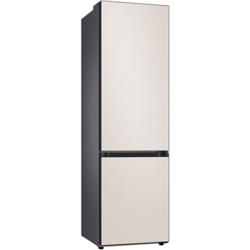 Хладилник с фризер Samsung BeSpoke RB38A6B1DCE/EF, клас D, 390 л. общ обем, свободностоящ, 211 kWh/годишно, осветление, бежов image