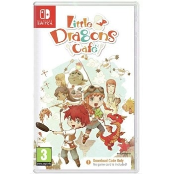 Little Dragons Cafe Code in a Box Nintendo Switch product