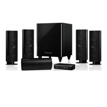 Soundbar система за домашно кино harman/kardon HKTS 65BQ, 5.1, безжичен субуфър, RMS (5x50W + 1x200W) image