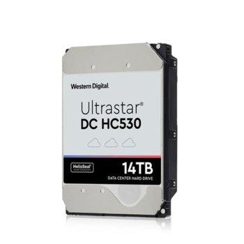 Твърд диск 14TB Western Digital Ultrastar DC HC530 (512e) TCG, SAS 12Gb/s, 7200 rpm, 512MB кеш, 3.5 (8.89cm) image