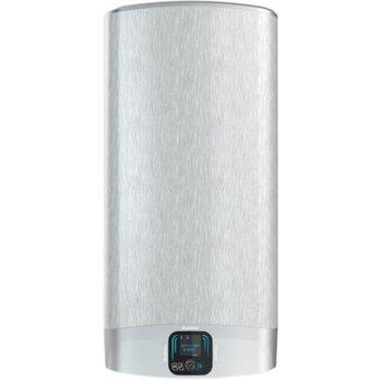 Електрически бойлер Ariston Velis Evo Plus, 80 л., вертикален, 1.5 kW, титаниево покритие, енергиен клас B, 50.6 x 106.6 x 27.0 cm  image