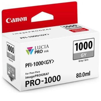 ГЛАВА ЗА Canon imagePROGRAF PRO-1000 - Tank Gray - 0552C001AA P№ PFI-1000 - 80ml image