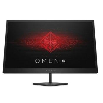 "Монитор HP Omen Z7Y57AA, 25"" (63.5 cm), TN панел, FHD, 1 ms, 100M :1, 400 cd/m2, HDMI, DVI, гейминг image"