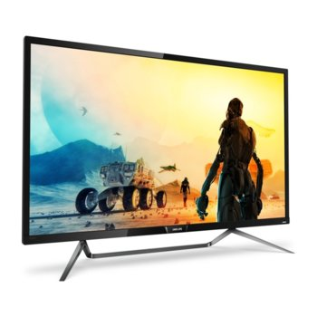 "Монитор Philips 436M6VBPAB, 42"" (106.68 см) MVA панел, 4К Ultra HD, 4 ms, 50 000 000:1, 1000 cd/m2, DisplayPort, HDMI, USB Type C image"