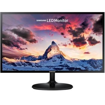 """Монитор Samsung S24F350FHR, 23.5"""" (59.69 cm) PLS панел, Full HD, 4ms, 250 cd/m2, HDMI, VGA image"""