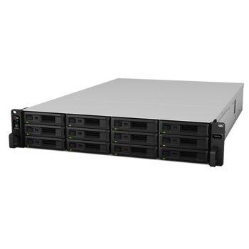 Мрежови диск (NAS) Synology SA3600, дванадесетядрен Broadwell Intel Xeon D-1567 2.1/2.7 GHz, без твърд диск, (12x SATA), 16GB DDR4, 2x USB 3.0 image