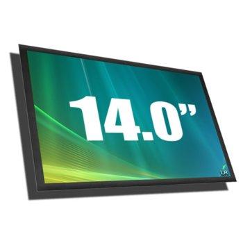 """Матрица за лаптоп Boe HW14WX107-04, 14.0"""" (35.56 cm) WXGA 1366 x 768 pix., гланц image"""