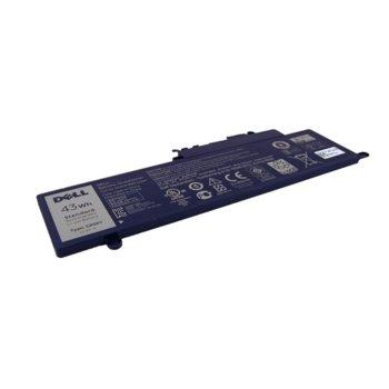 Батерия (оригинална) за лаптоп Dell, съвместима със серия Inspiron 3147 3148 3157 7347 7348, 3 cells, 11.1V, 3800 mAh image