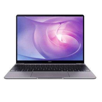 "Лаптоп Huawei MateBook 13 (Heng-W19BR)(сив), четириядрен Zen 2 AMD Ryzen 5 3500U 2.1/3.7 GHz, 13"" (33.02 cm) Quad HD 2K FullView дисплей 8GB DDR4, 512GB SSD, USB Type C, Windows 10 Home, 1.3g image"