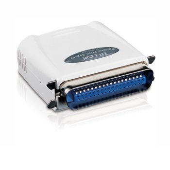 Принт сървър TP-Link TL-PS110P, 1x 10/100Mbps, 1x Parallel image