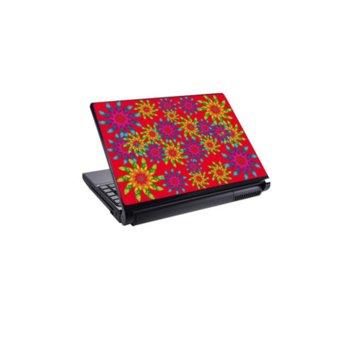 Декорация /скин/ Fullmark LS0046, за лаптопи до 26.7 x 39.37cm, цветя image