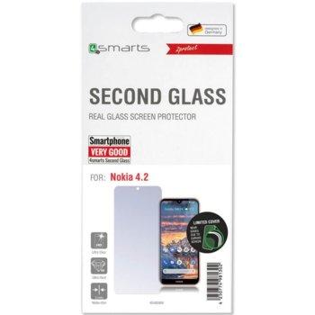 Протектор от закалено стъкло /Tempered Glass/, 4Smarts 4S492669, за Nokia 4.2 image